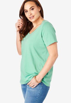 Scoopneck Ultimate Tee, ROSEMARY