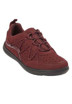 Evan Sneakers by Comfortview, BURGUNDY, hi-res