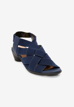 The Kai Sandal by Comfortview®, DENIM