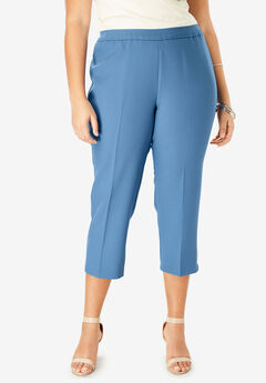 Bend Over® Capri Pant, DUSTY INDIGO