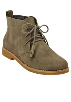 Brooke Desert Bootie by Comfortview®, GREY, hi-res