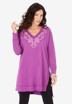 Embroidered Sweatshirt,