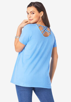 Strappy Back Ultimate Tee,