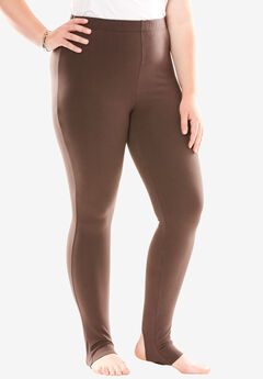 Stirrup Legging, CHOCOLATE, hi-res