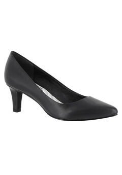 Pointe Pump by Easy Street®, BLACK, hi-res
