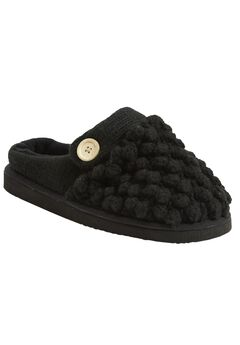 Rein Mule Slipper by Comfortview®, BLACK, hi-res