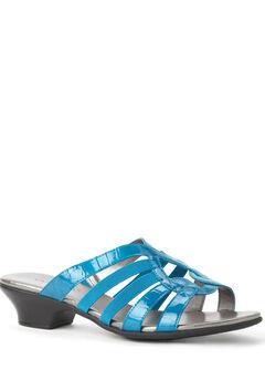 Faux Croc Sandal,