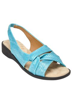 The Pearl Sling by Comfortview®, TURQUOISE