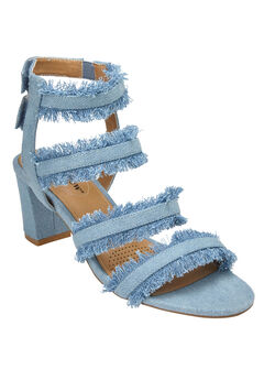 Elita Pumps by Comfortview®, LIGHT DENIM, hi-res