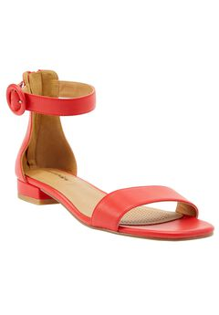Alora Sandals by Comfortview®, HOT RED, hi-res