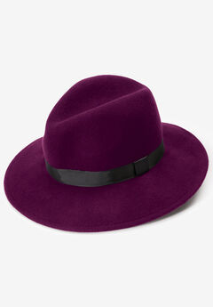 Felt Fedora, DARK BERRY