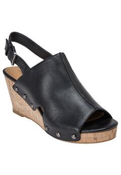 Alaya Sandals by Comfortview®, BLACK, hi-res