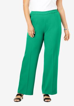 Wide-Leg Bend Over® Pant, TROPICAL EMERALD