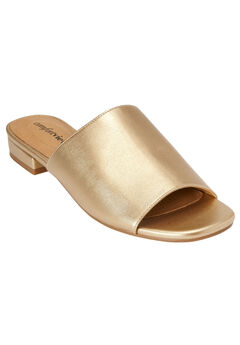 Sola Mules by Comfortview®, GOLD