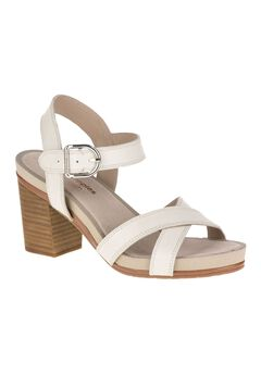Mariska Buckle Qtr Sandals by Hush Puppies®,