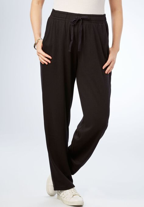 Straight Leg Soft Knit Pant  9a415ee28ee
