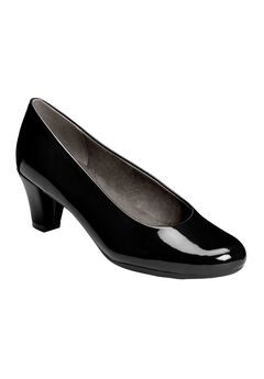Shore Thing Pumps by Aerosoles®, BLACK PATENT, hi-res
