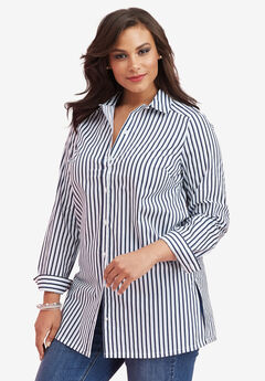 Kate Tunic, NAVY STRIPE, hi-res