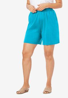 Soft Knit Shorts, OCEAN