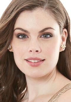 Five-Tear Earrings, GOLD, hi-res