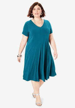 Plus Size Casual Dresses for Women | Roaman\'s