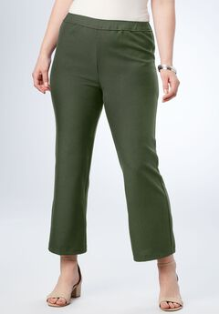 Bend Over® Kick Flare Pant, DEEP OLIVE