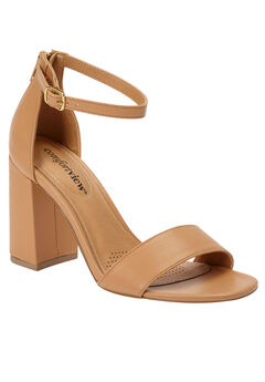 Belle Sandals by Comfortview®, SUNTAN, hi-res
