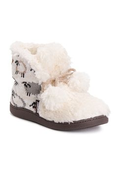 Jackie Slipper Bootie by Muk Luks®,