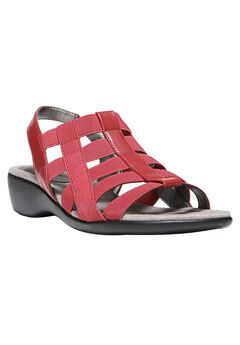 Theory Sandals by LifeStride®, RED, hi-res
