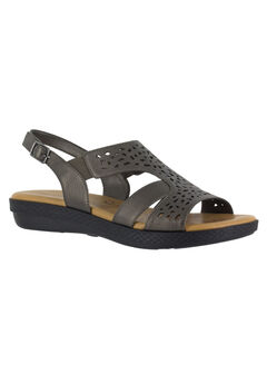 Bolt Sandals by Easy Street®, PEWTER