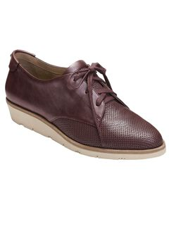Sidecar Oxford Wedges by Aerosoles®, WINE LEATHER, hi-res