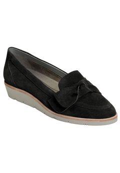 Sidewalk Slip-Ons by Aerosoles®, BLACK SUEDE, hi-res