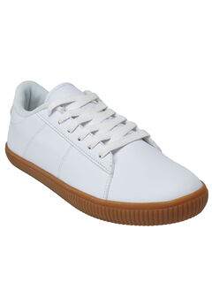 The Hadlee Sneaker by Comfortview®, WHITE