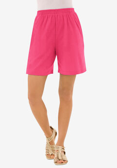 Soft Knit Short, PINK BURST