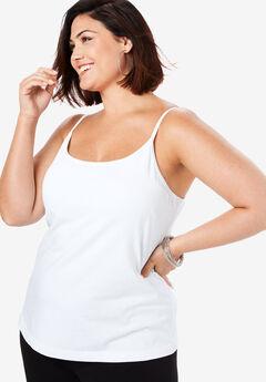6d03a0269 Plus Size Tank Tops for Women | Roaman's