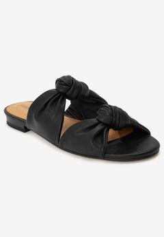 The Jaclyn Sandal by Comfortview®, BLACK