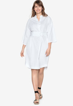 Inverted Pleat Dress by Castaluna,