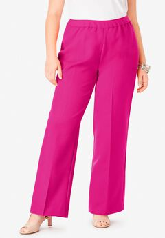 Bend Over® Wide-Leg Pant, VIVID PINK