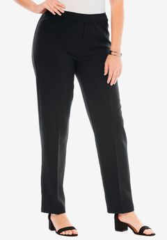Bend Over® Pull-On Pant, BLACK, hi-res