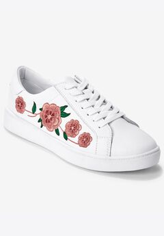 Sailor Sneakers by Comfortview®, WHITE