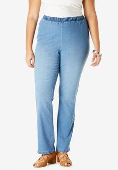 6a554c6a968 Bootcut Pull-On Stretch Jean by Denim 24 7®
