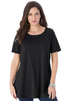 Trapeze Ultimate Tee with Keyhole Back,
