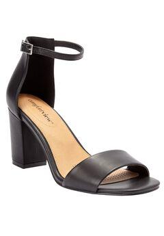Bibi Sandals by Comfortview, BLACK, hi-res