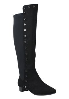Brynnah Wide Calf Boots by J.Renee®, BLACK BLACK, hi-res
