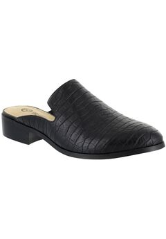Briar II Mules by Bella Vita®, BLACK CROCO, hi-res