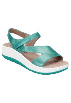Cybele Sandal by Bionica , TURQUOISE