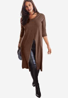Front-Slit Ultra Tunic,