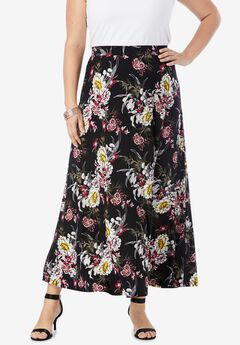 Ultra Smooth Maxi Skirt,