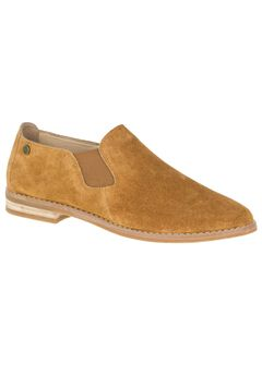 Analise Clever Slip-Ons by Hush Puppies®, CAMEL SUEDE, hi-res