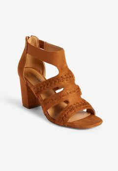 The Darlene Sandal by Comfortview®, COGNAC